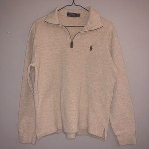 polo quarter zip pullover